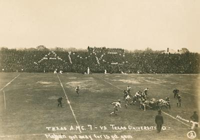 1919 Texas game
