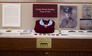 George Keathley medal display
