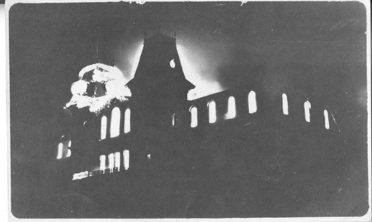 Old Main3 fire