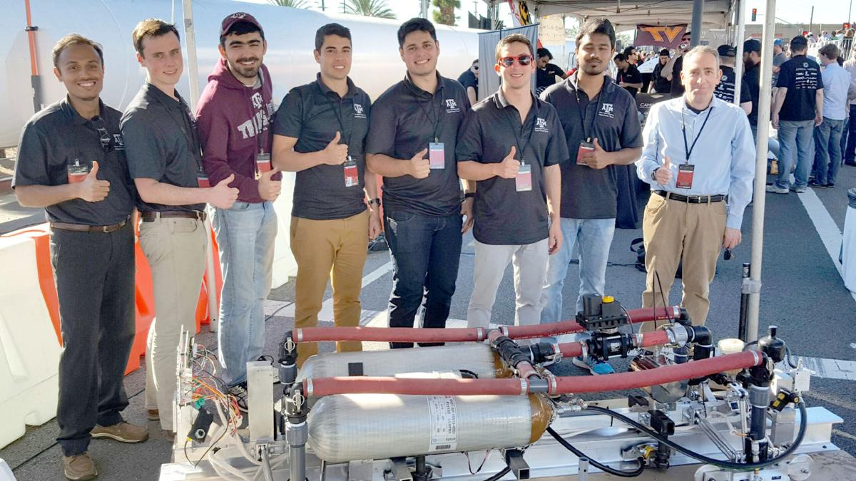 Texas A Amp M Team Happy To Be Part Of Hyperloop Competition
