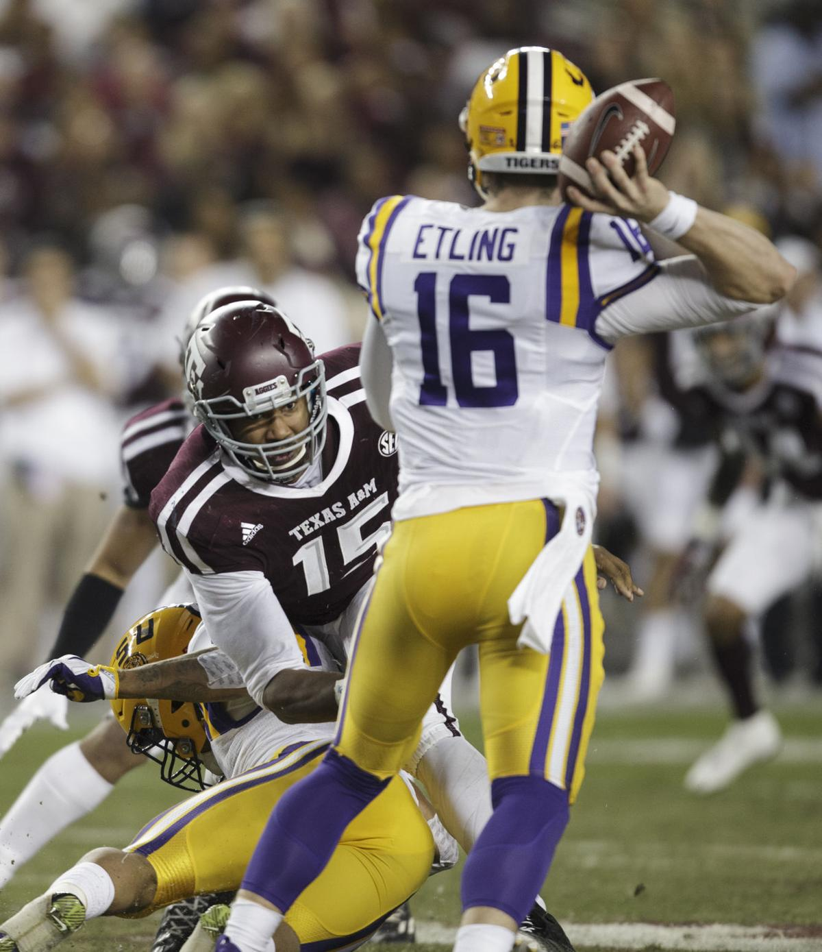LSU again shows Texas A&M it has a ways to go in SEC West ...