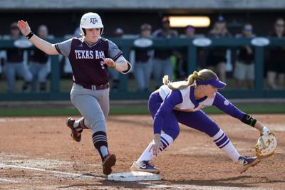 Texas A&M vs. LSU softball