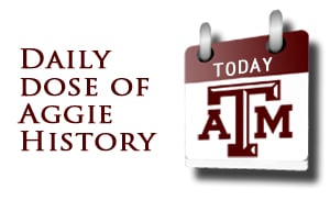 Today in Aggie History logo