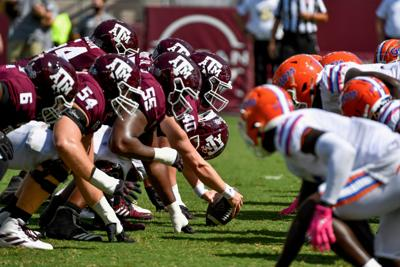 aggie offensive line