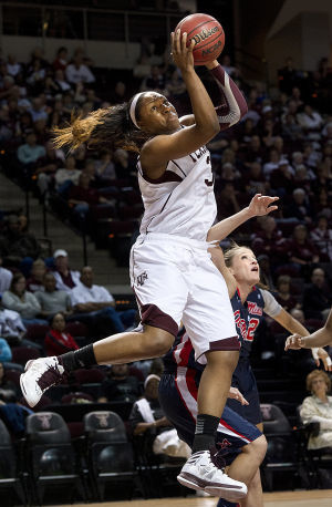 Texas A&M's Kelsey Bone declares for WNBA Draft