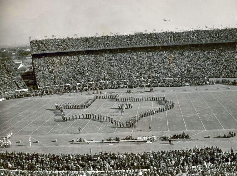 Aggie band 1940 sugar bowl