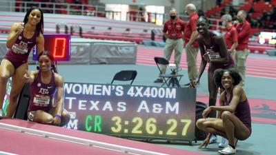 4x400 relay A&M women