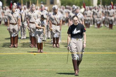 First female Corps of Cadets commander reflects on her time in the position, looks forward to the future
