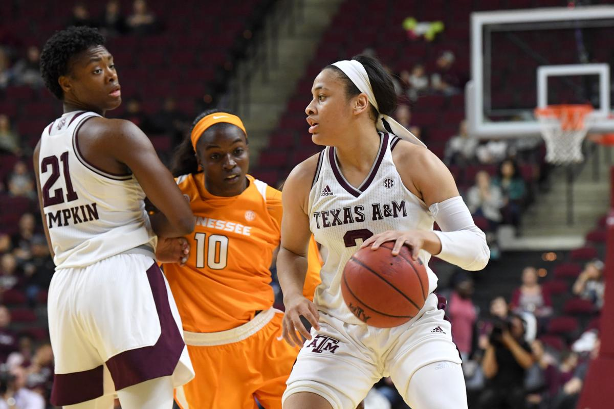 Texas A&M vs. Tennessee women's basketball