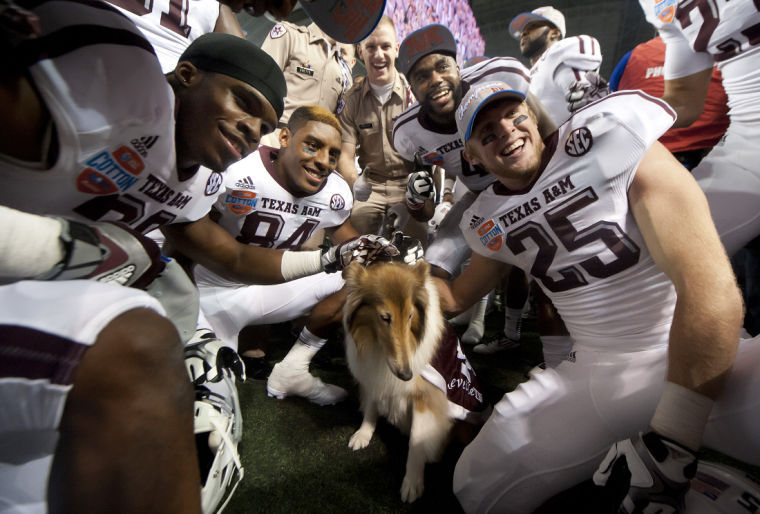 Reveille at the Cotton Bowl