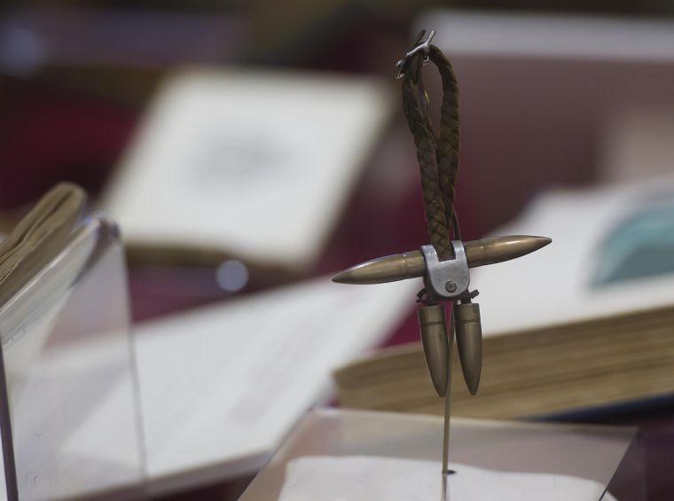 Great War Exhibit at Cushing Library