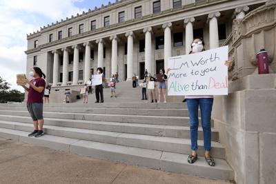 TAMU graduate student protest