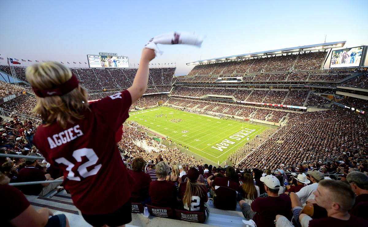 Kyle Field sees packed house in Texas A&M's 56-23 home opener against Ball State