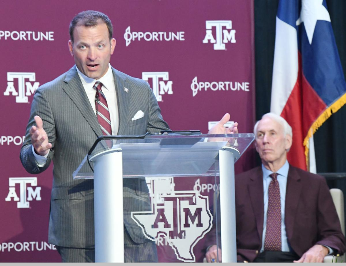 New Texas A&M Athletic Director