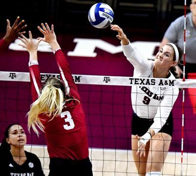 A&M vs Bama Volleyball