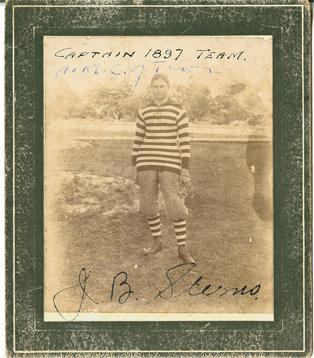 1897 captain J. Sterns