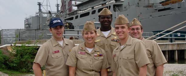 Maritime Acadmey cadets
