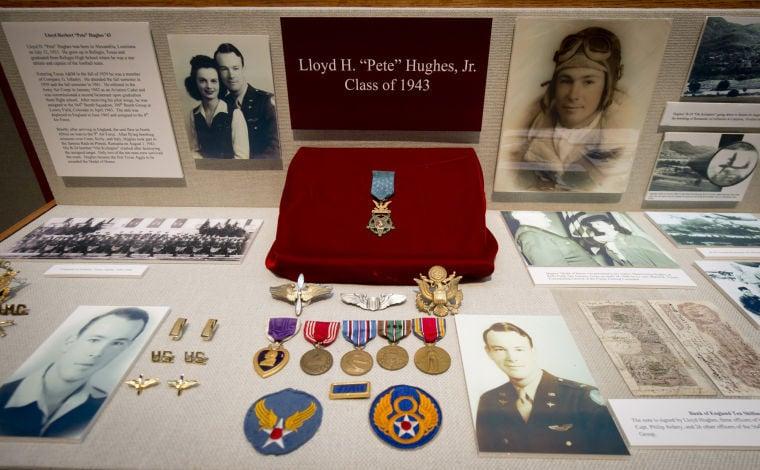 Lloyd Hughes medal display