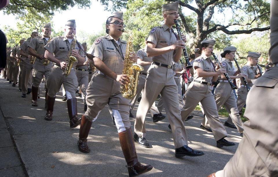 The Fightin Texas Aggie Band A History Of Music And