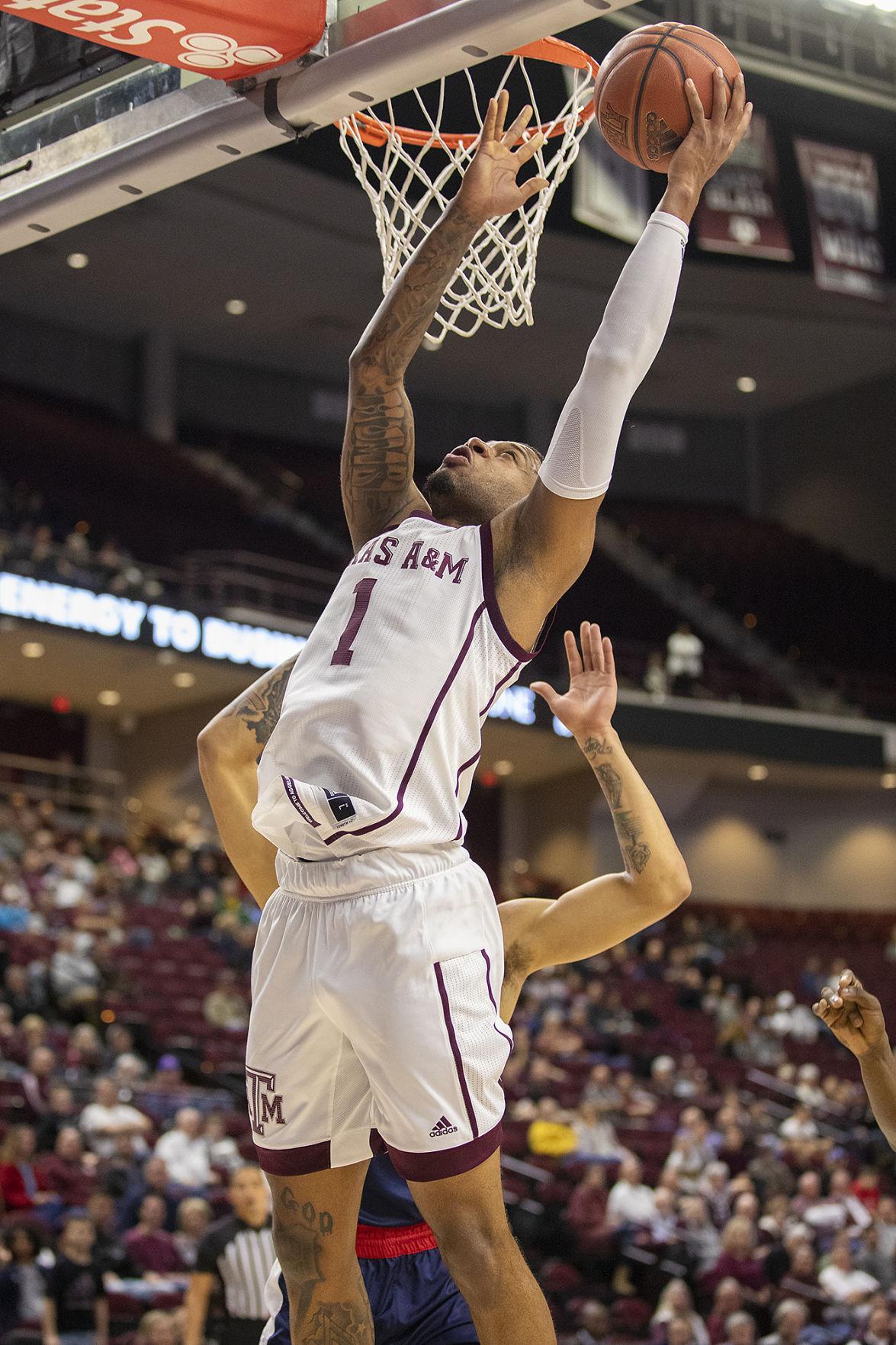 Texas A&M men's basketball vs Ole Miss
