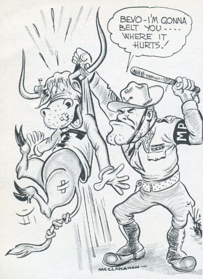 Ol Sarge cartoon on Tumlinson's birthday