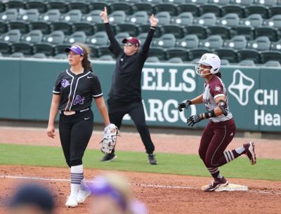 Texas A&M ACU softball