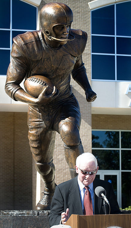 John David Crow statue2