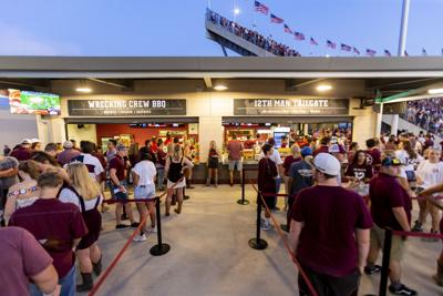 Kyle Field concession stand