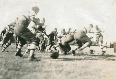 1916 Haskell game