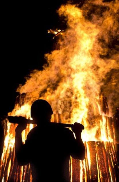 Student Bonfire Ignites Aggie Spirit For Game Day