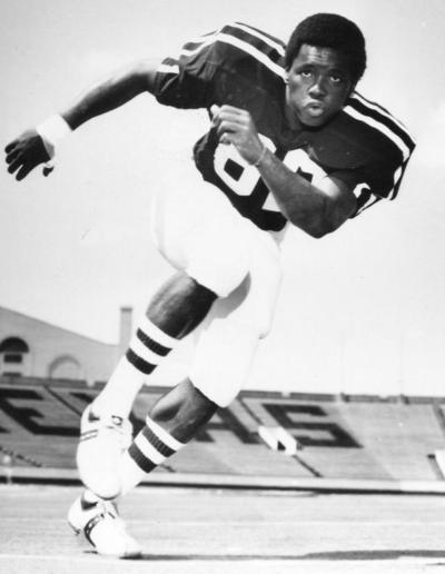 Lester Hayes posed