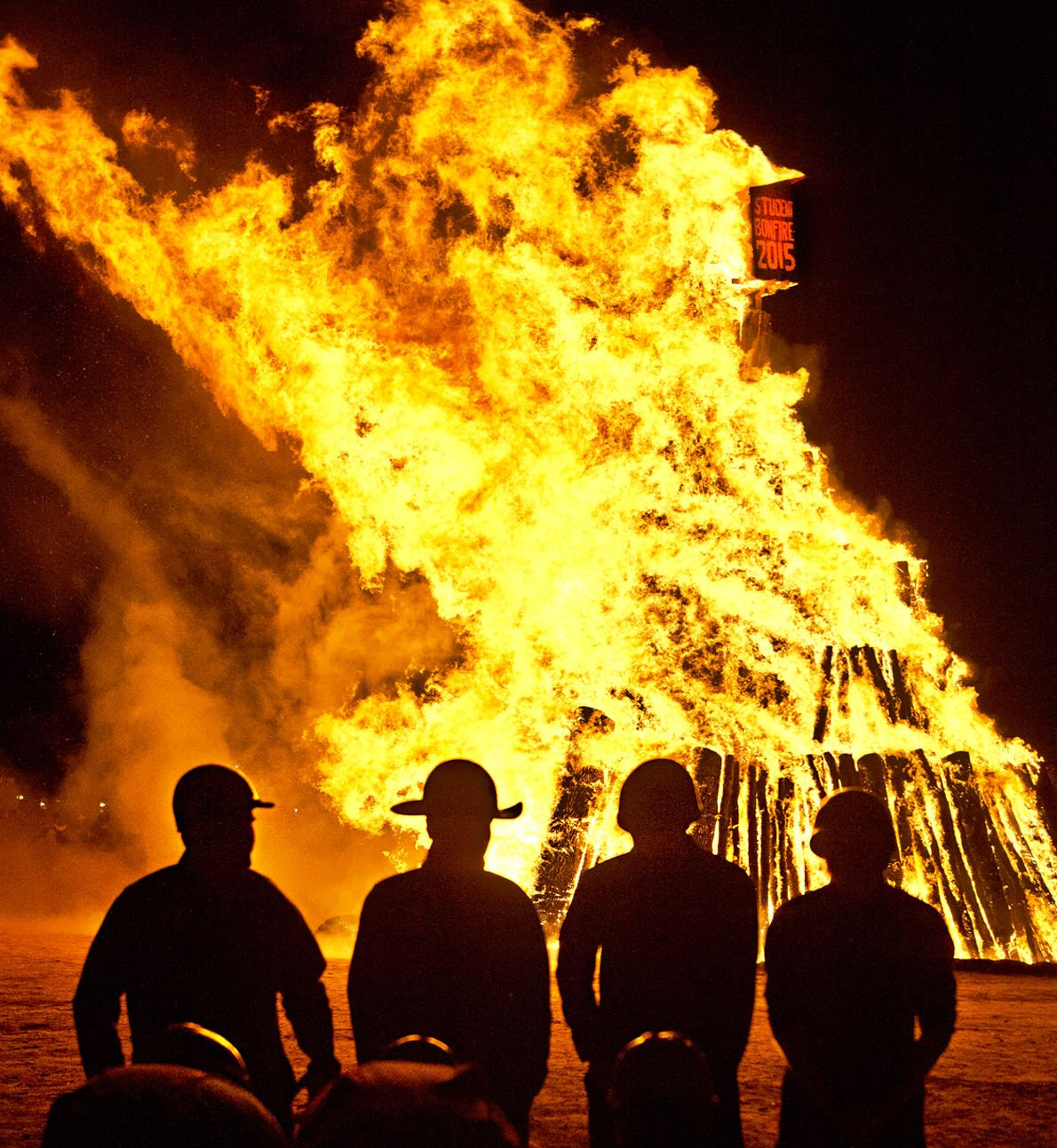 Years after collapse, spirit, community of Student Bonfire remain the same