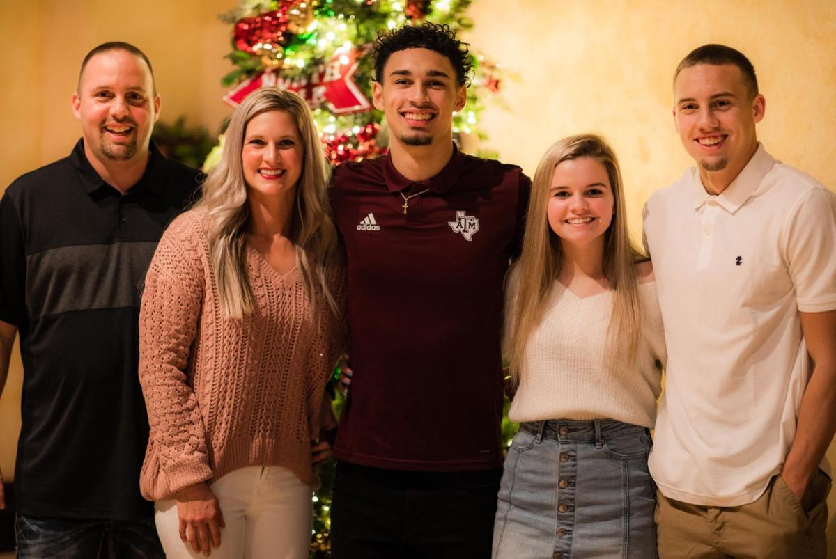 perry family with andre gordon
