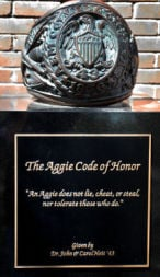 Aggie Code of Honor small