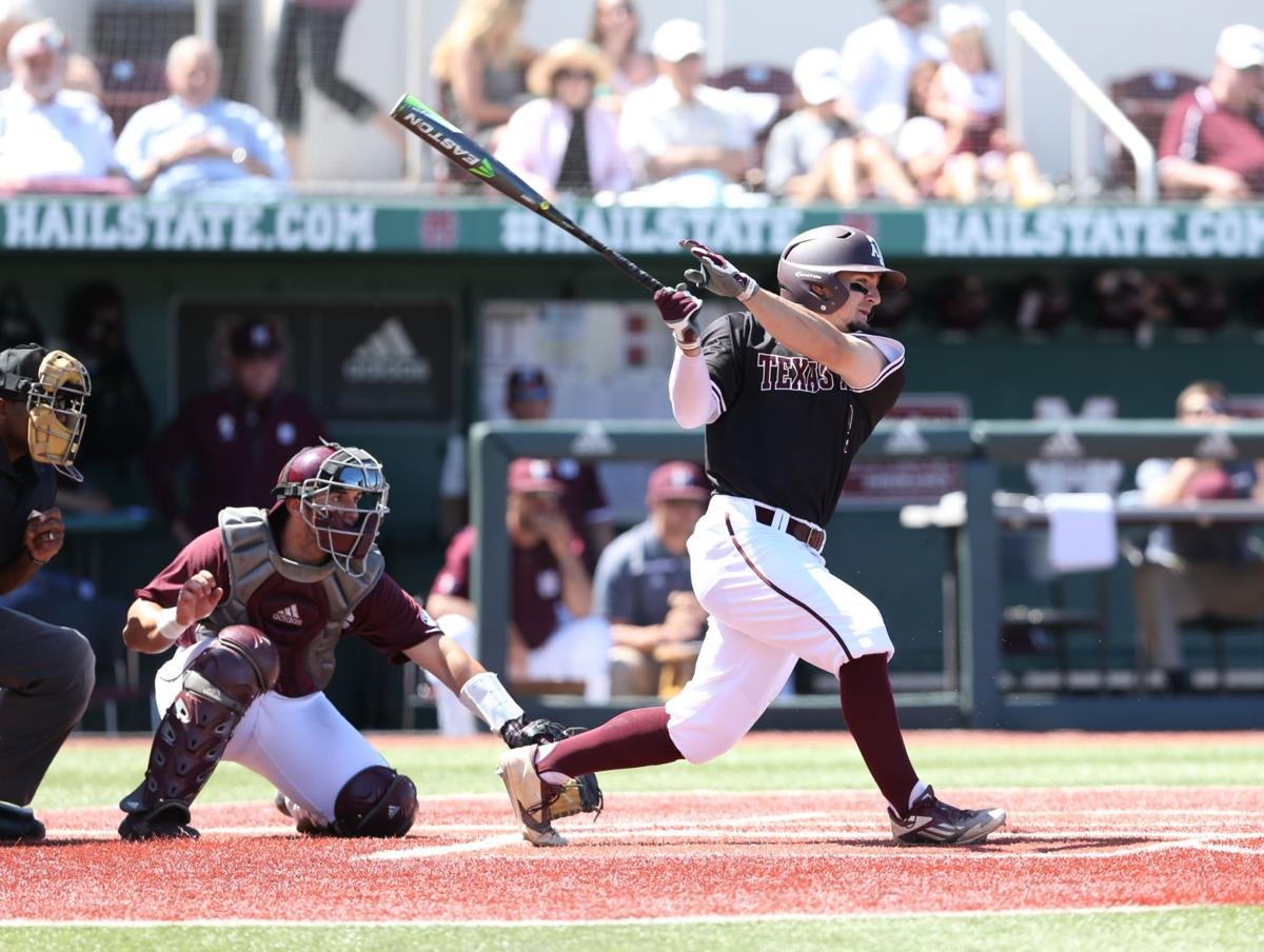 Aggie Baseball Sweeps Mississippi State