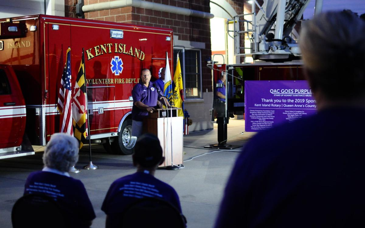 County goes purple to fight drug abuse | Spotlight