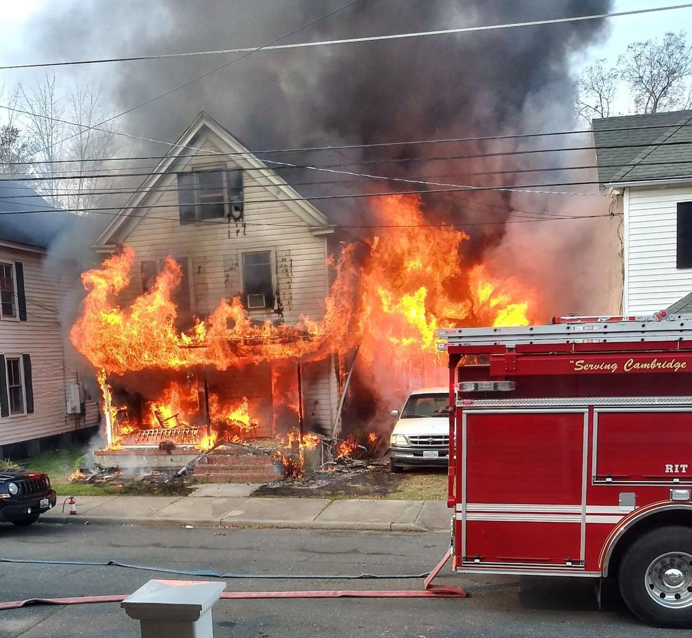 Willis Street Fire