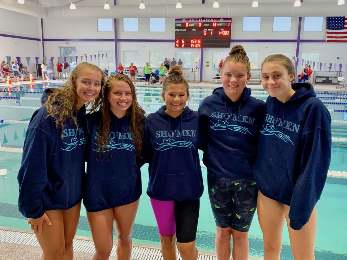 Sho'men 15-18 girls win age group, set meet record in medley relay