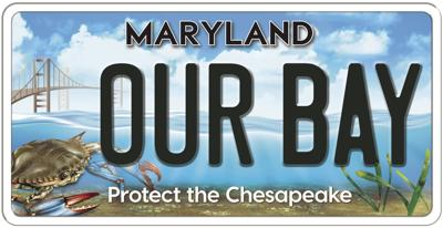 Chesapeake Bay Trust raises funds with new license plate design