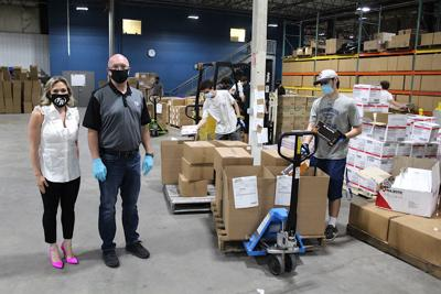 Stevensville company shipping PPE