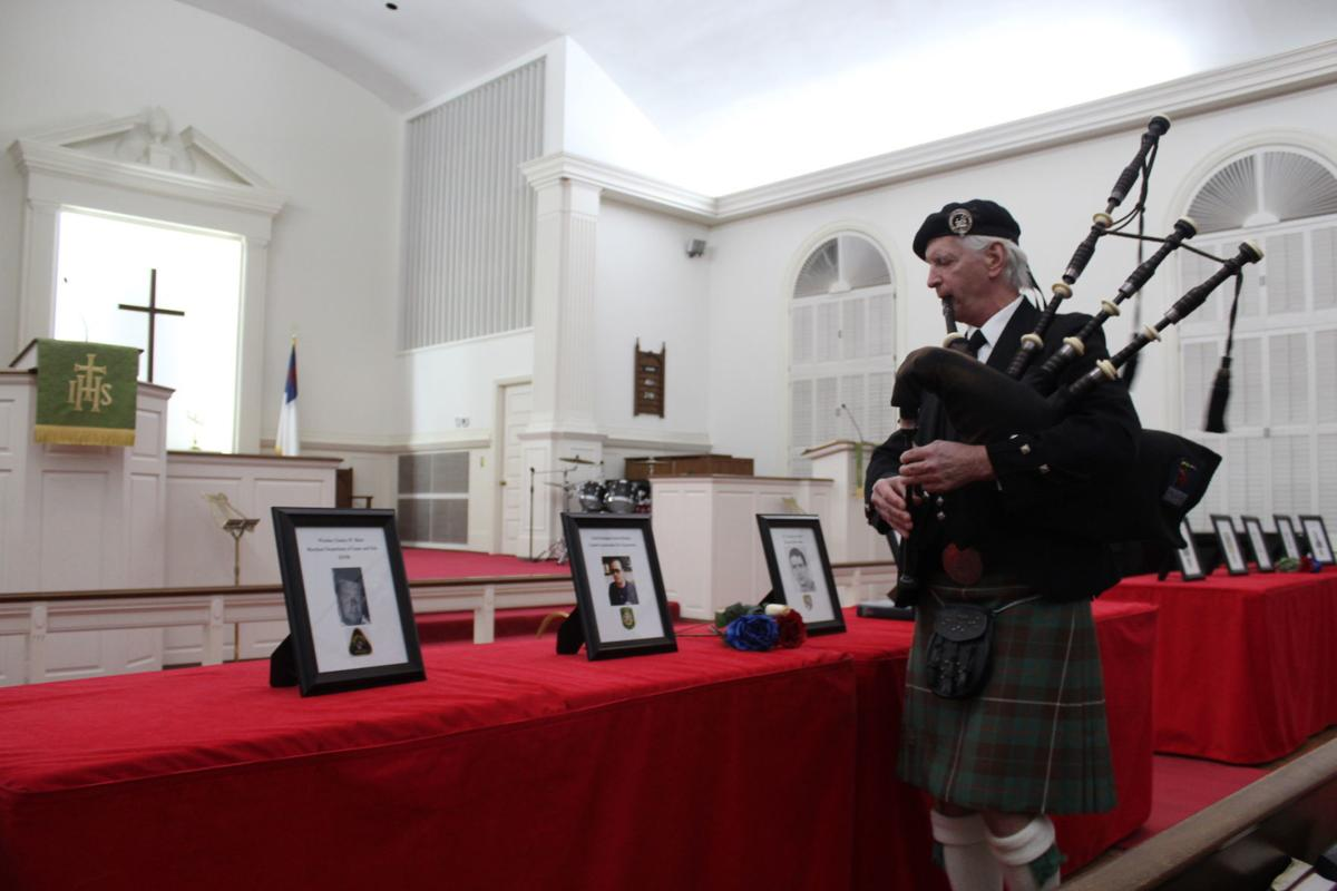 'Fallen Heroes' remembered at service