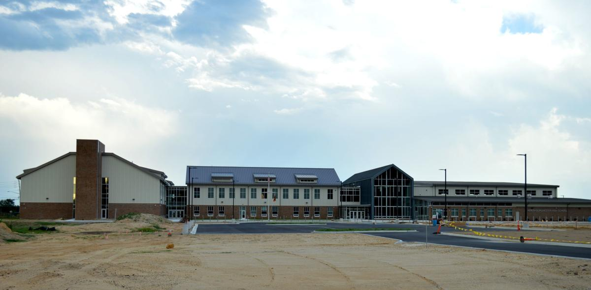 New North Dorchester High School nears completion