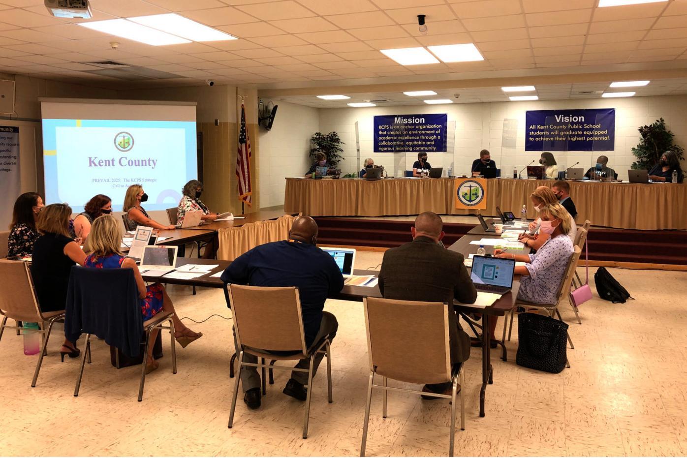 Board discusses strategic plan for improving academics
