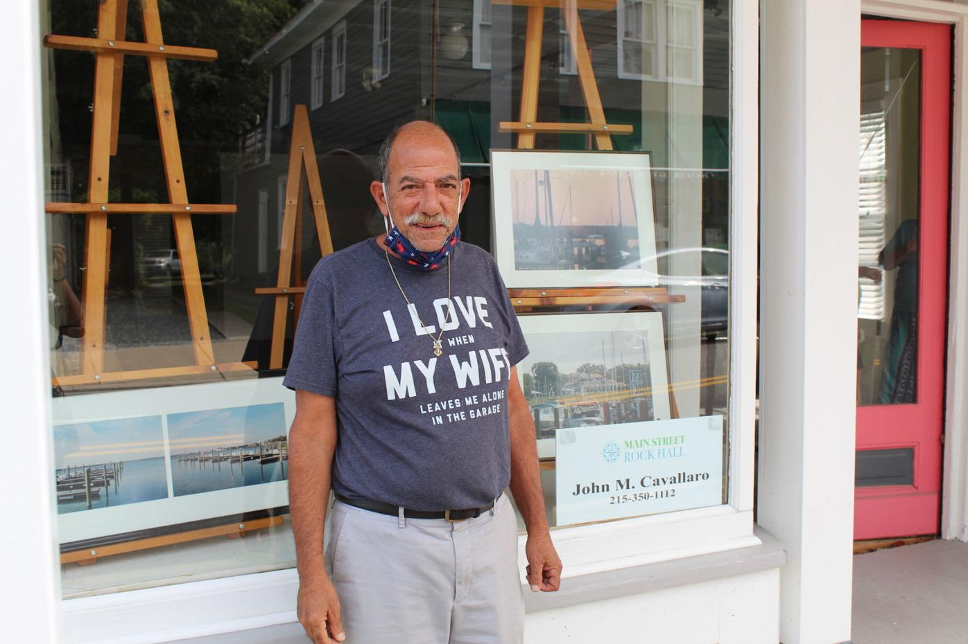 Local artists decorate Rock Hall storefronts