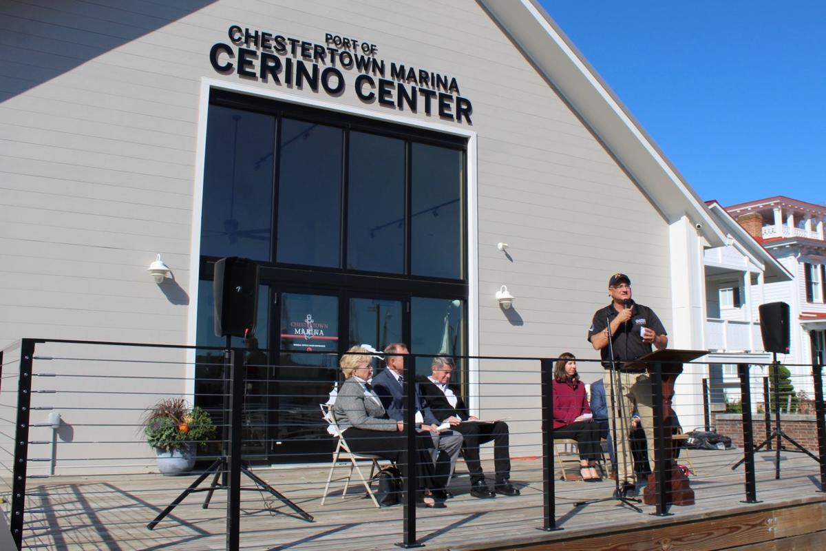 Chestertown's marina officially open for business