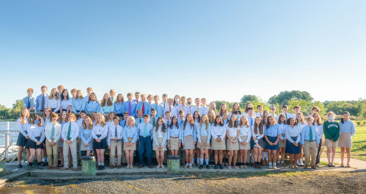 Embarkation ceremony welcomes 87 students, faculty to Gunston