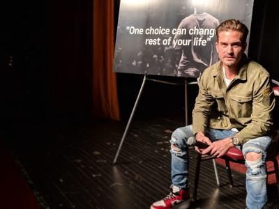 Hoffman to speak about substance abuse, making good choices