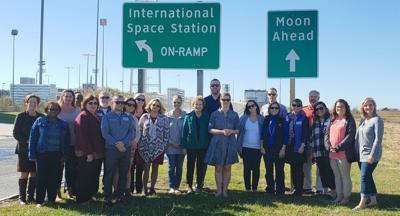 Shore Leadership tours NASA Wallops Facility