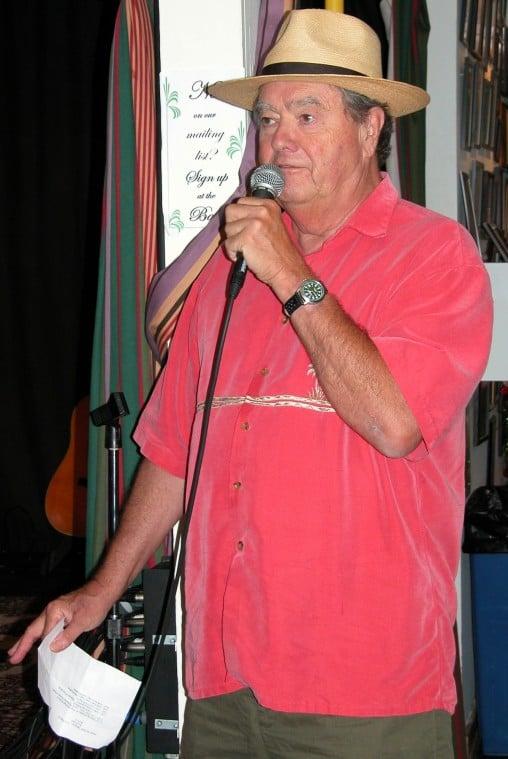 Tom McHugh at the Mainstay