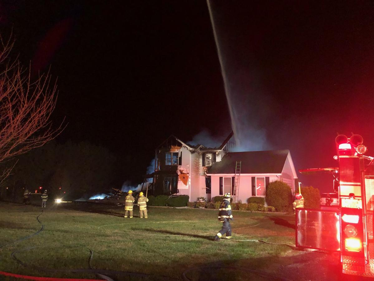 Early morning fire claims Trappe home